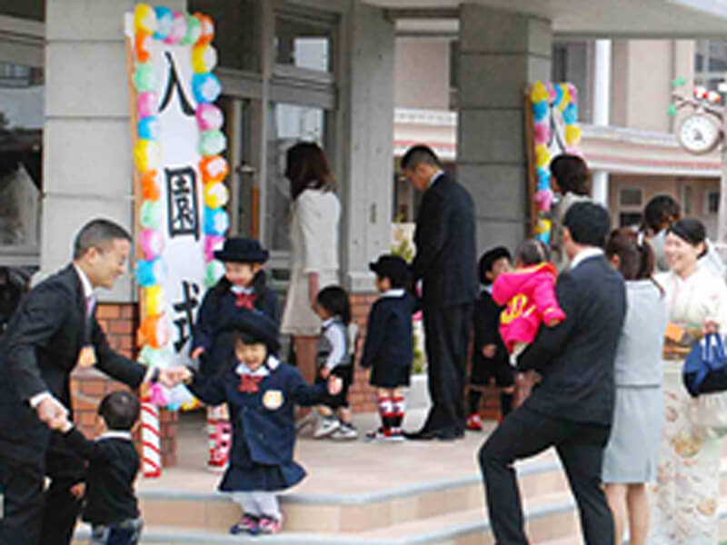 大袋幼稚園 入園式
